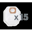 Gtech HyLite: 3-lagige Staubfilterbeutel (15er Pack)