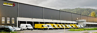 ecofort warehouse in Switzerland